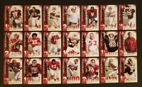 2011 UPPER DECK UD OKLAHOMA SOONERS NATIONAL CHAMPIONS COMPLETE 31 CARD SET