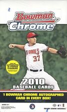 2010 BOWMAN CHROME BASEBALL HOBBY BOX BLOWOUT CARDS