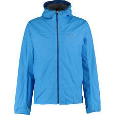 DIDRIKSONS Men's ELBE Waterproof Rain Jacket, Aqua Blue, Medium