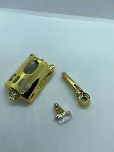 Gold Wahl Magic Clip Motor Cover, Switch, and Blade Adjuster