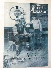 Victor Traps,Trapping,First Lesson Philip Goodwin Oneida,N.Y.,Ad. Poster