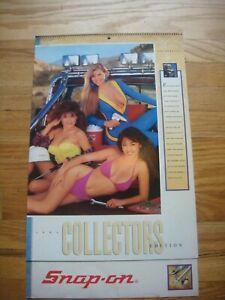 Snap-On Tools Collectors Calendar 1991