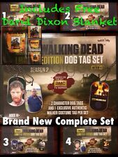 Walking Dead Limited Edition Dog Tag Set 1 of 3000 Rare + Gift Whl Supplies Last