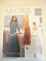 Vintage 2000 Sewing Pattern Two Piece Dress Size 18-20-22 Uncut