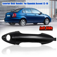 Front Left Side Exterior Door Handle Plastic For Hyundai Accent 2012-2016 NEW