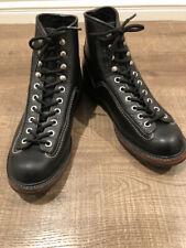 Sugar Cane Lone Wolf Carpenter Brown Boots Sz 8
