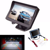 """hinten HD Digital Parkplatz 4.3 """" PAL /NTSC TFT LCD Bildschirm mit Automonitor"""
