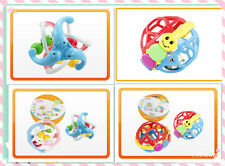 4 x Kids Children Bell Ball Little Dolphin Ball Toys Gifts For Kids 6 Months+