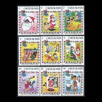 Caicos, Sc #22-30, MNH, 1983, Disney, Christmas, FHDD-A