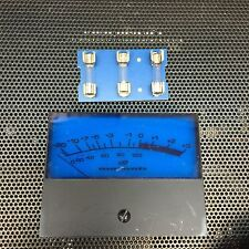 SIX 6 New Custom Made BLUE Fuse Lamps for Marantz 510M Power Amplifier Meters