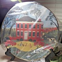 Museum Editions Limited The Colonial Heritage Series Plate Trent House, N.J.
