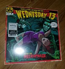 Wednesday 13 Necrophaze Ltd Mint Green / Purple Colored Vinyl 750 Only