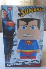 Superman LED Lamp Look-Alite 9 Inch Mood Light / Table Lamp New in Box Dc Comic