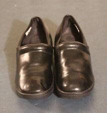 Safe T Step Gretchen Comfort Womens Solid Black Clog Slip-Resistant US 8,EUR 40
