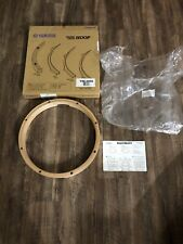 """Yamaha Vintage Wood Hoops 14"""" 8 Hole Snare Drum With Box"""