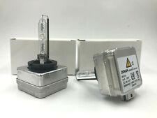 2x New OEM 03-13 Saab 9-5 Osram D1S Xenon HID 35W Headlight Bulb 19351942