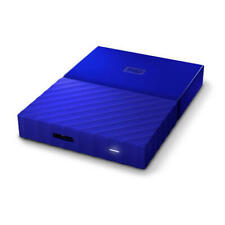 WD My Passport 1TB Blue Manufacturer Refurbished Portable Hard Drive by Weste...