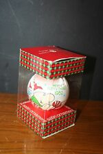 "1982 ZIGGY Christmas Ornament ""Merry Everything"" SATIN American Greetings EUC"
