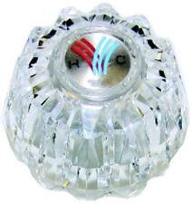Valley V5014Bg , Oem Style Clear Knob Handle W Button & Screw