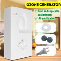 15W 400mg/h Ozone Generator Extra Ozonizer Air Purifier Disinfection Sterilizer