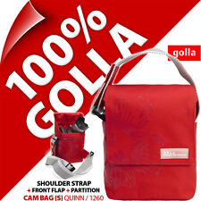 Golla Camera Case + Strap Red for Compact Mirrorless Camera, Semi SLR, Camcorder