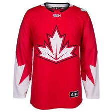 Team Canada 2016 WCH World Cup Of Hockey Men's Premier Replica Red S Small