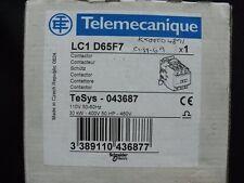Contactor LC1D65F7 043687 Telemecanique 30kW 110VAC LC1D65-F7