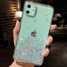 For iPhone 11 11 Pro Max SE 2nd Cute Girls Women Bling Sparkle Luxury Case Cover