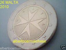 2 euro 2010 MALTA malte effigie normale emblema Sovrano Militare ordine Мальта