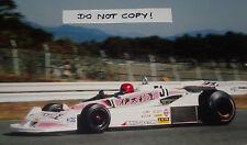 Fotografía 9x6, NORITAKE TAKAHARA, F1 KE009, japonés de Kojima-Cosworth GP, 1977