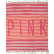 Victorias Secret Pink Beach/Throw Blanket -New in package-Very Rare!