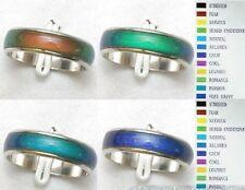 wholesale lot 100pcs Color Changable Mood  Ring