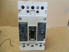 Siemens Circuit Breaker NEG3B125 125A 125A Amp 3P 600 VAC 250 VDC Used