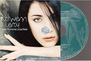 NOLWENN LEROY une femme cachée CD SINGLE édition limitée inclus le clip