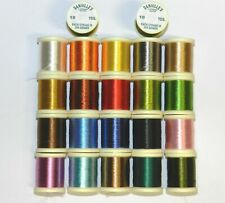DANVILLE'S 4 STRAND RAYON FLOSS 1 SPOOL FLY TYING THREAD YOU PICK COLOR 10 YARDS