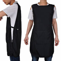 Front-Back Pro Salon Hair Cutting Apron Barber Hairdressing Gown Cape Cloth