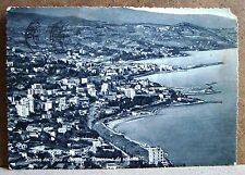 Riviera dei Fiori - Sanremo - panorama da ponente [grande, b/n, viaggiata]