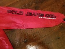 Ralph lauren polo jeans co Outerwear Mens medium Jacket  red nylon boating