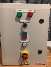 VFD MOTOR STARTER CONTROL PANEL INVERTER SPEED CONTROL CONTROL PANEL