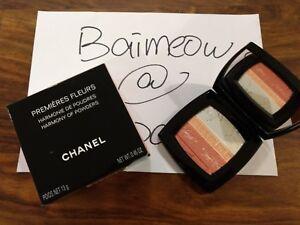 Chanel PREMIÈRES FLEURS Harmony Of Powders Limited Edition 2018 premieres fleurs