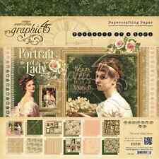 Graphic 45 8x8 Portrait of a Lady Paper Pad
