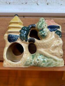 Vintage Aquarium Decoration - Castle or Pagoda - Made in Japan