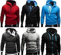 Merish Kapuzenpullover Hoodie Pullover Jacke Sweatjacke Sweatshirt Sweats MIX