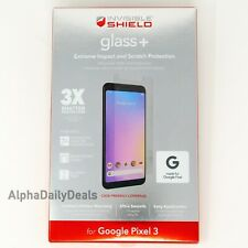 ZAGG InvisibleShield Glass+ Tempered Screen Protector for Google Pixel 3