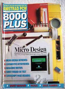 75390 Issue 36 Amstrad PCW 8000 Plus Magazine 1989