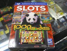 Dvd Rom Igt Slots: 100 Pandas Pc Mac Games Casino Slot Machine