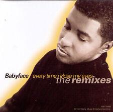 Babyface : Every Time I Close My Eyes CD