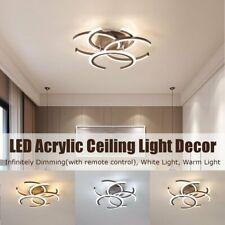 Acrylic LED Ceiling Light Pendant Lamp Hallway Bedroom Dimmable Fixture Decor !