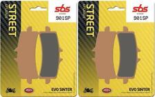 Triumph Speed Triple RS 1050 19 2019 SBS Front Evo Sinter Brake Pads Set 901SP