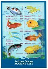 MODERN GEMS - Maldives - Marine Life - Sheet Of 8 - MNH